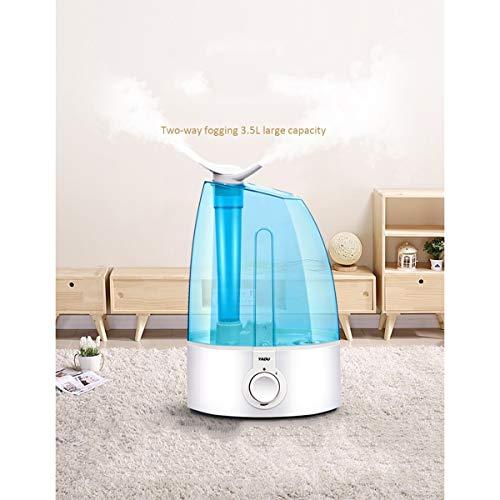 NPOWF humidificador Oficina en casa Dormitorio Mujer Embarazada bebé Aire Acondicionado humidificador de Aire pequeño L036