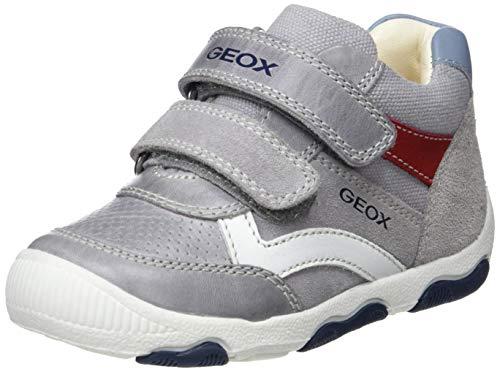 Geox Baby Jungen B New BALU' Boy C Sneaker, Grau (Grey C1006), 25 EU