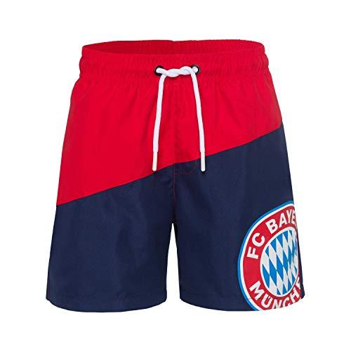 FC Bayern München Badeshort Kids rot/blau Gr.152