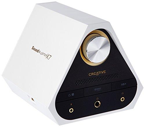 Sound Blaster X7 White 127dB, 24-bit 192kHz High-Res...
