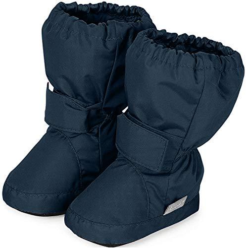 Sterntaler Jungen Baby Stiefel mit Klettverschluss, Farbe: Marine, Größe: 17/18, Alter: 6-9 Monate, Artikel-Nr.: 5101510