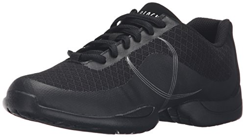 Bloch Women's Troupe Dance Shoe, Black, 9 M US
