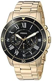 Fossil Men's Analog Quartz Watch with Stainless-Steel Strap