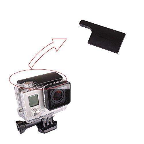 Novo estojo de substituição preto Andoer com fivela de bloqueio para GoPro Hero 3+/4Camera