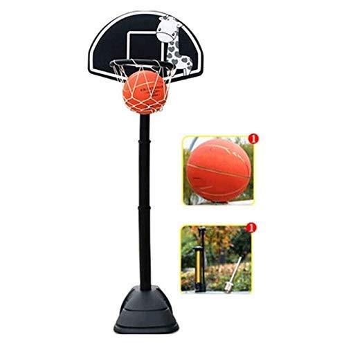 XIUYU Tragbarer Basketballkorb Tor Basketball Systemstand Höhenverstellbarer for Kinder Jugend Indoor Outdoor Ständer Mobile Basketball Set