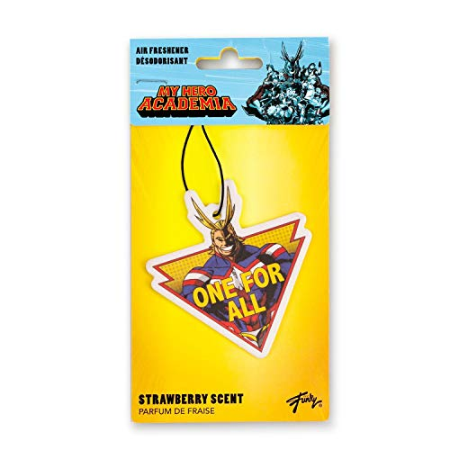 My Hero Academia All Might Hanging Air Freshener, Strawberry Scent Anime Figure