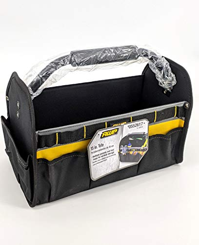Tool Tote Bag with Steel handle 15 x12 x 8