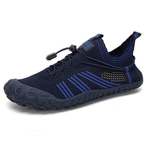 Zapatos Descalzos Zapatos Antideslizantes senderos para Correr en la Playa Senderismo Caminar Gimnasio Entrenadores de Fitness Secado rápido Nadar Surf Zapatos de Agua