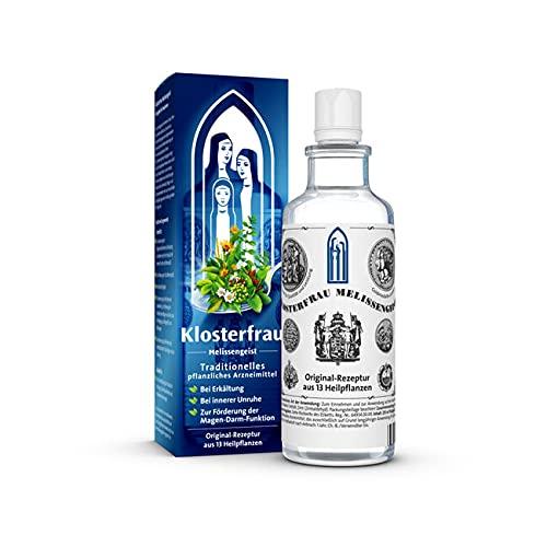 Klosterfrau Melissengeist | Erkältung, innerer Unruhe, Schlafstörungen, Nervosität, Magen-Darmbeschwerden, Wetterfühligkeit und Muskelbeschwerden | 475 ml