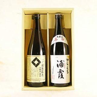 お年賀 プレゼント ギフト 日本酒 飲み比べセット 一ノ蔵&浦霞 辛口 720ml 東北の人気蔵元