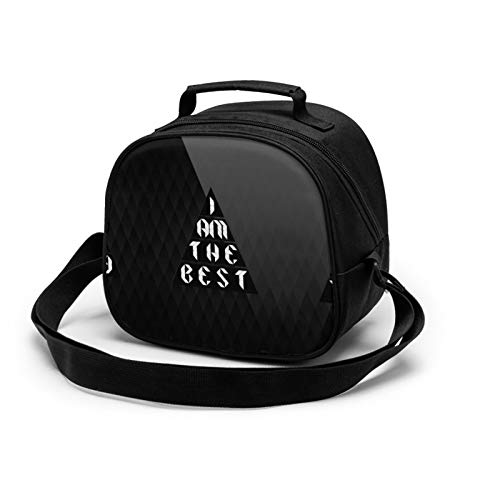 I Am The Best Lunch Tote Lunch Bag Waterproof Reusable Lunch Box Portable Meal Bag Ice Pack For Kids Boys Girls