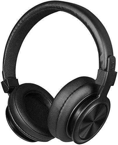 Auriculares sobre oreja, auriculares inalámbricos Bluetooth 4.1 de siete colores LED sobre la oreja con, nombre del color: rojo (color: rojo) (color: negro) 1yess (color rojo) xuwuhz
