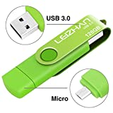 Phone Picture Stick 256GB, Micro-USB 3.0 Photostick for Samsung Galaxy S7/S6/S5/S4/S3/Note5/4/3/2/Meizu/HTC/Nokia/Moto/Huawei/Xiaomi,Green