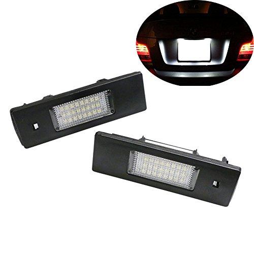 Haichen Paire de 24 LED erreur gratuit lumière de plaque d'immatriculation