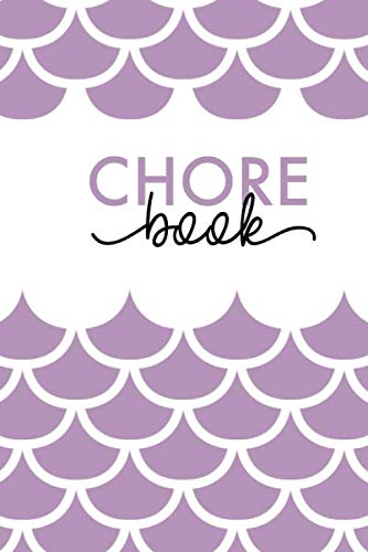 Chore Book: Daily Weekly Cleaning Home Organization Notebook