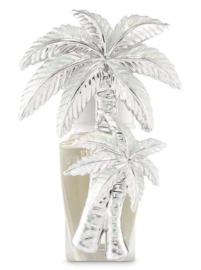 地震原子以内に【Bath&Body Works/バス&ボディワークス】 ルームフレグランス プラグインスターター (本体のみ) グリッターパームツリー Wallflowers Fragrance Plug Glittery Palm Tree [並行輸入品]