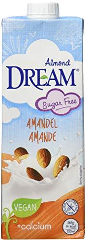 DREAM Mandel Drink ungesüsst - zuckerfreie Mandelmilch | vegan - 10er Pack (10x1l)