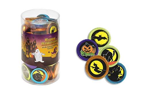 Monedas de Chocolate con leche (Halloween)