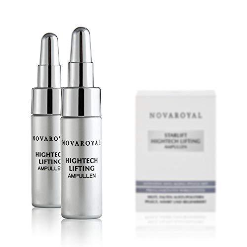 NOVAROYAL StarLift® Ampullen   Hightech Anti Aging mit prämierten Wirkstoffen für exzellente Faltenkorrektur   hocheffektiv gegen Naso-Labial- und Mimikfalten   verbessert das Hautvolumen