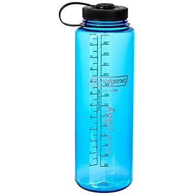 Nalgene 48-Ounce Silo Tritan Wide Mouth Water Bottle (Blue)
