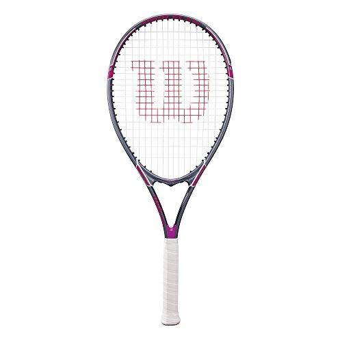 "Wilson Tour Slam Adult Strung Tennis Racket, 4 1/4"" – Purple"