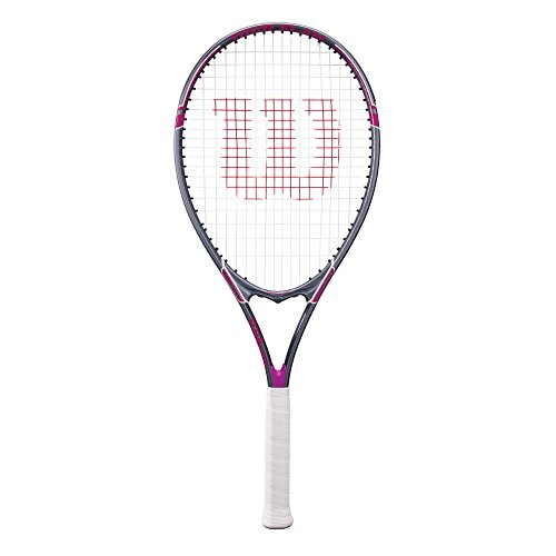 Wilson Tour Slam Adult Strung Tennis Racket, 4 1/4' - Purple