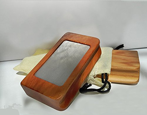 Unbekannt Lederformer Schleifklotz Holz de Luxe für Billardqueue-Leder