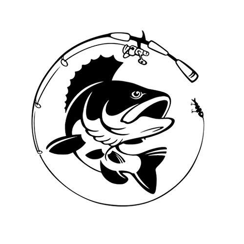 Vektenxi - Adhesivo de vinilo para cañas de pescar y accesorios duraderos y útiles
