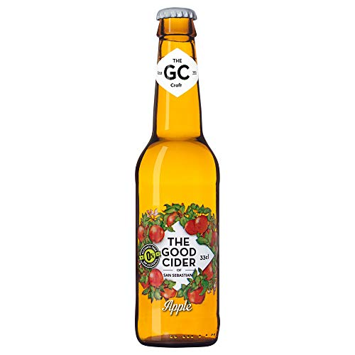 The Good Cider of San Sebastian Apple 0% - Caja de 12 x 33 cl