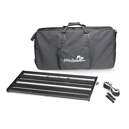 Palmer MI PEDALBAY 80 - Base para pedales de efectos (incluye funda acolchada, 80 cm)