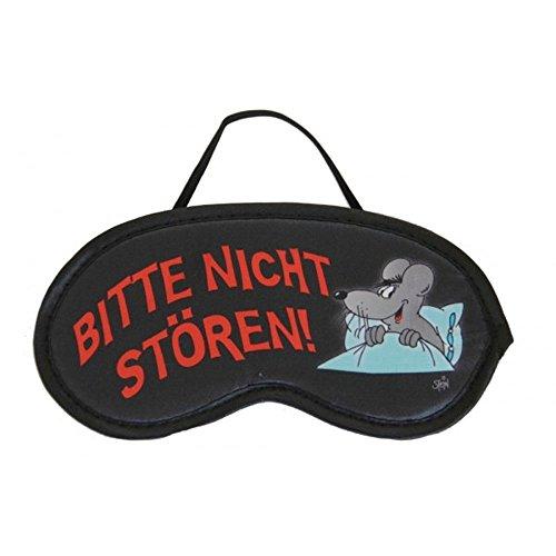 teppiche-tuermatten Schlafmaske - Schlafbrille - Uli Stein - Bitte Nicht stören!