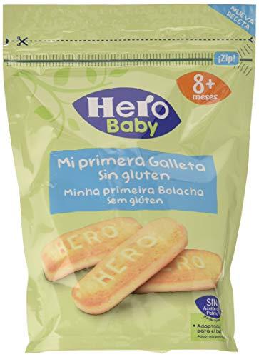 Hero Baby - Mi Primera Galleta, Sin Gluten, para Bebés a Partir de los 8 Meses - Pack de 6 x 150 g
