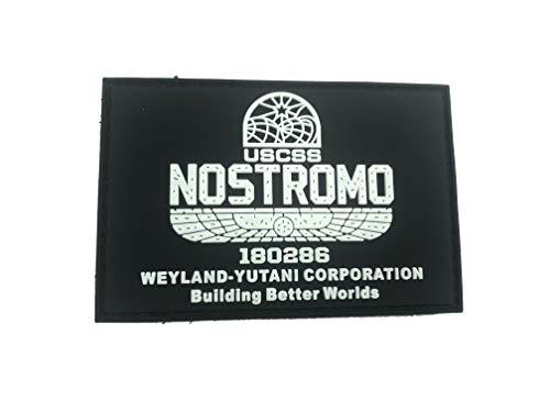 USCSS Nostromo Alien Weyland Yutani Brilla en la oscuridad Airsoft Paintball PVC...