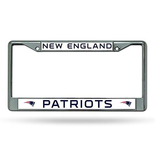 Rico NFL Chrome License Plate Frame