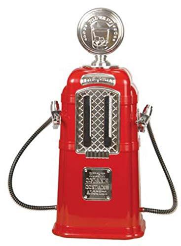Dispensador de cerveza de doble tiro, portátil, para minibar, KTV, color rojo