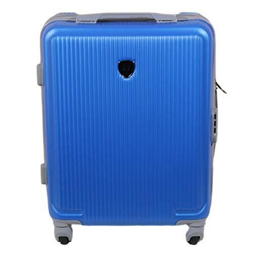 Maleta de Viaje de Cabina 20x40x55cm,Equipaje de Mano Apta para ryanair,vueling (Azul)