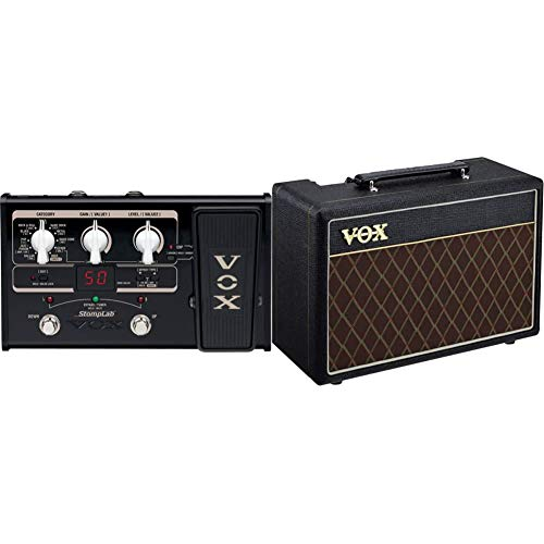 VOX SL2G 2G Amplifier Multi Effect Stomplab Pedal for Guitar & Pathfinder 10-10W Guitar Practice Amplifier Combo