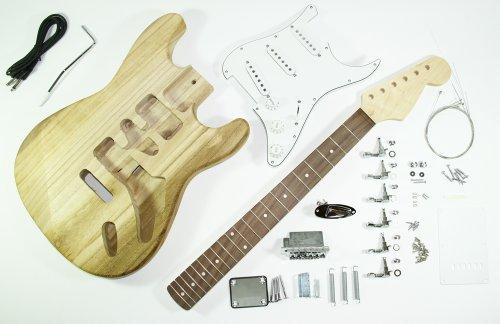 Cherrystone 4260180884562 kompletter Bausatz für E-Gitarre ST