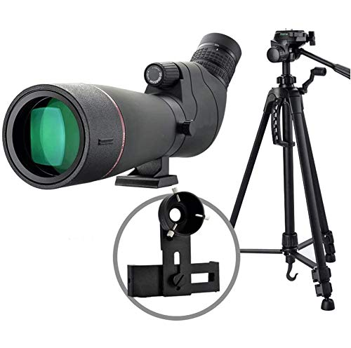 Find Discount ZQY Monocular Telescope with 1.4m Tripod Mount Waterproof Monocular Scope Night Vision...