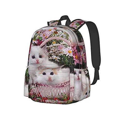 Popular Mochila Lindo Gato Garra Peludo Mascotas Casual Bolsa Cool Computer Bag Senderismo Bookpack Para Adolescente Adulto