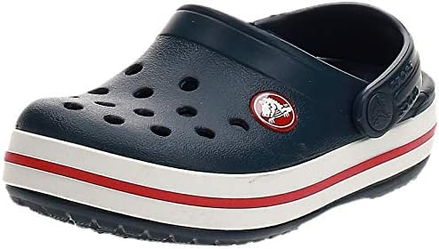 Crocs Kids Crocband Clog Navy Red 7 Children product image