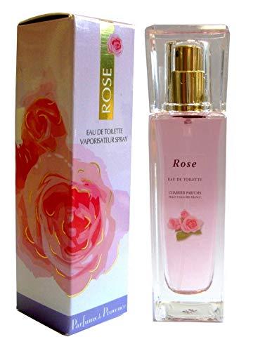 Charrier Parfums Gamme Provence, Spray Eau de Toilette, Rose, Floral, 30 ml
