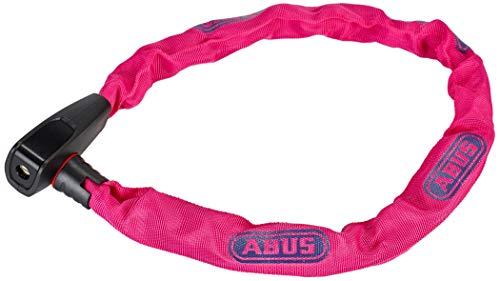 Abus Unisex– Erwachsene 6806K/75 Fahrradschloss, neon pink, 75 cm