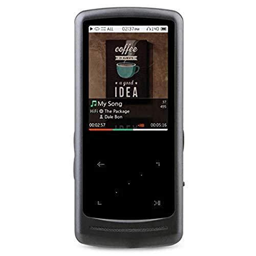Cowon iAudio HiFi 64GB Metallic Silber ultraschlank und flach mit Hervorragender Klangwiedergabe