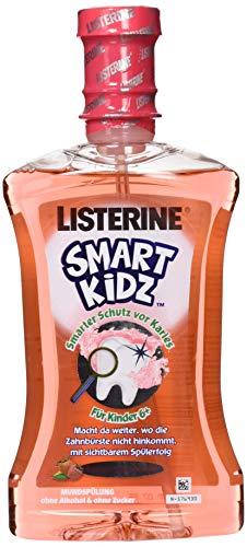 LISTERINE Smart Kidz Beere – Mundspülung für Kinder ab 6 Jahren – Mundspülung mit Beerengeschmack – 1 x 500 ml