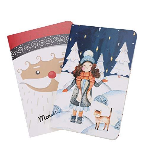Confezione da 10biglietti di auguri di buon Natale carte con buste Notelets Wonderful Blank Wishing benedizione i regali di Natale di auguri regalo per famiglia moglie marito Daughter Son Friends