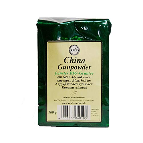 Rauf Tee Grüner Tee-China Gunpowder -2x100g