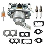 Carburetor Replacement for Briggs&Stratton 20HP 21HP 23HP 24HP 25HP intek V-Twin Engine Carb 40G777 40H777 446777 44677A 407677 40F777 406777
