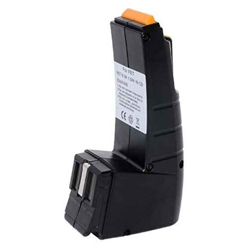 Gopacks Sila vervangende gereedschapsaccu Festo FESTOOL FESTOOL BPH9.6C CDD9,6 NI-MH Accu Batterij Bateria Acku accu