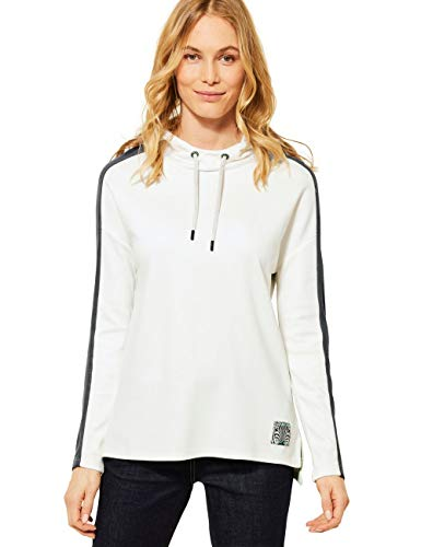 Cecil 315940 Camiseta, Pure Off White, XXL para Mujer